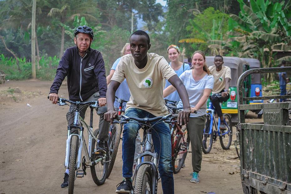 fietstocht in Tanzania (klantfoto) - foto: klantreactie