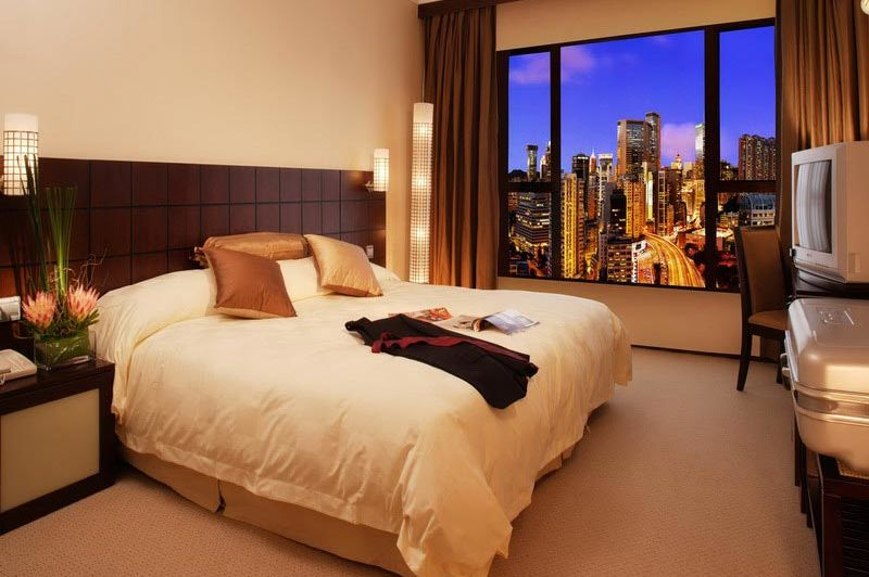 deluxe kamer city view - Cosmopolitan - Hong Kong