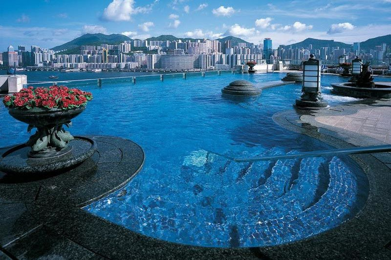 Pool deck - Harbour Grand Kowloon - Hong Kong