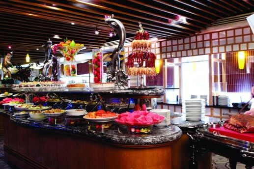Buffet bij Metro Park Hotel Kowloon - Metro Park Hotel Kowloon - Hong Kong