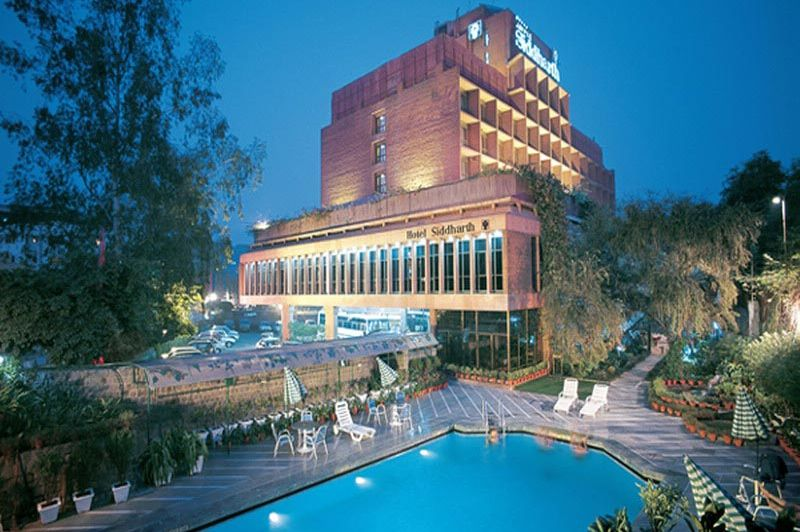 zwembad - Jaypee Siddharth Hotel - Delhi - India