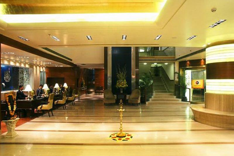 lobby - Jaypee Siddharth Hotel - Delhi - India