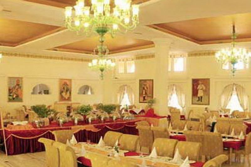 restaurant - Fort Rajwada - Jaisalmer - India