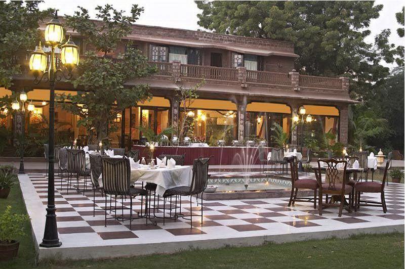 terras - Hotel Ranbanka - Jodhpur - India