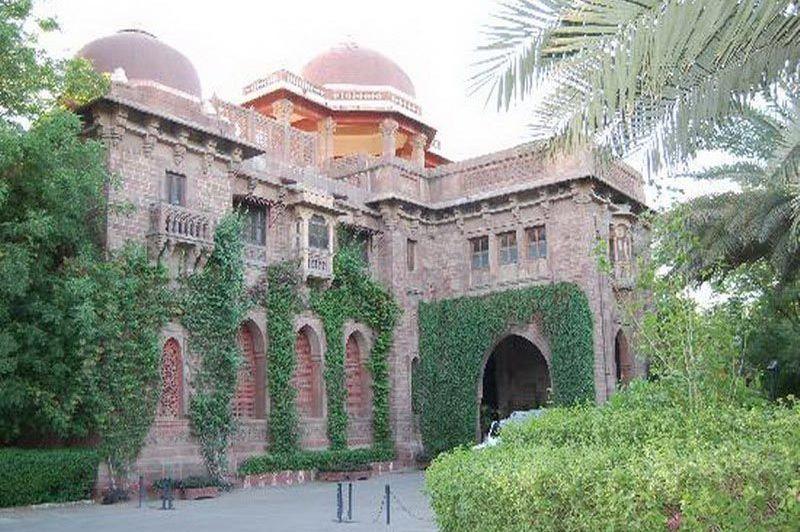 buitenkant - Ajit Bhawan - Jodhpur - India