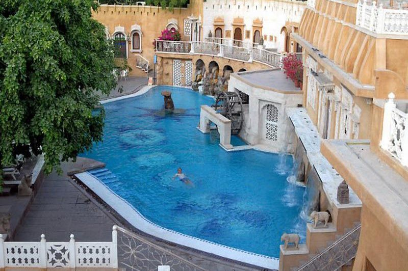 zwembad - Ajit Bhawan - Jodhpur - India