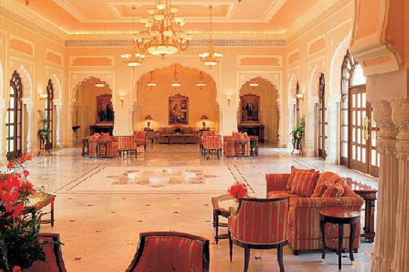 lobby - Taj Rambagh Palace - Jaipur - India