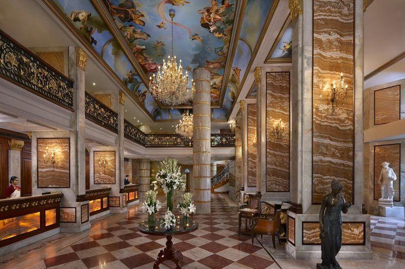 lobby - Royal Plaza - Delhi - India