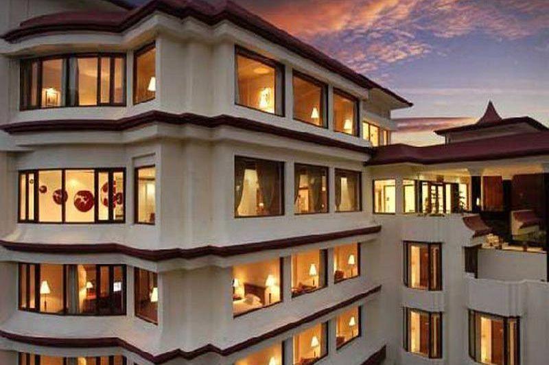 vooraanzicht van The Royal Plaza Gangtok - The Royal Plaza Gangtok - India