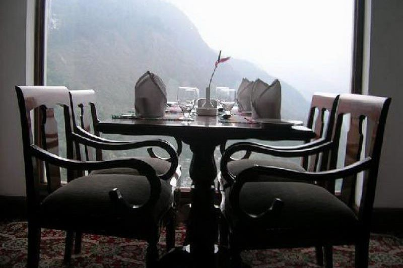 uitzicht vanuit The Royal Plaza Gangtok - The Royal Plaza Gangtok - India
