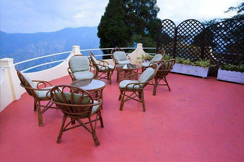 terras van Windamere Darjeeling - Windamere Darjeeling - India