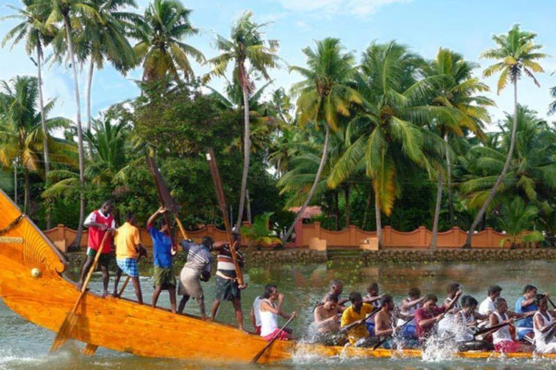 Snake Boat Race Backwaters/Kerala 2 - India