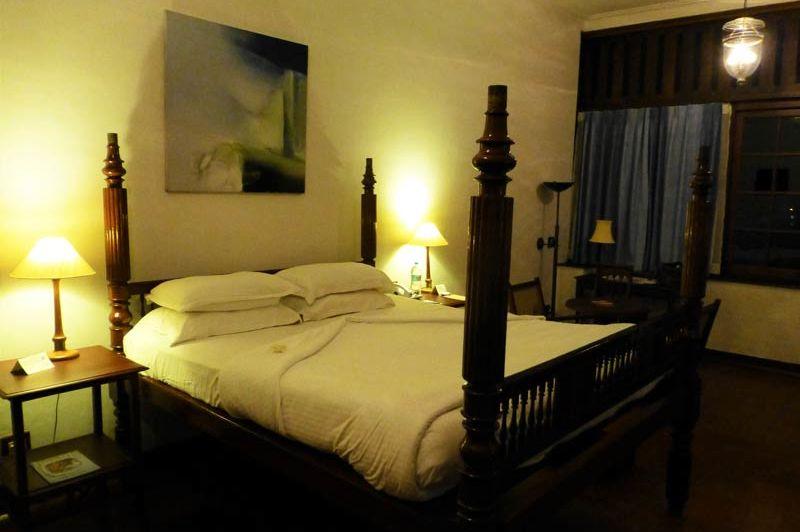 Cochin - Brunton Boatyard - hotelkamer - Brunton Boatyard - India