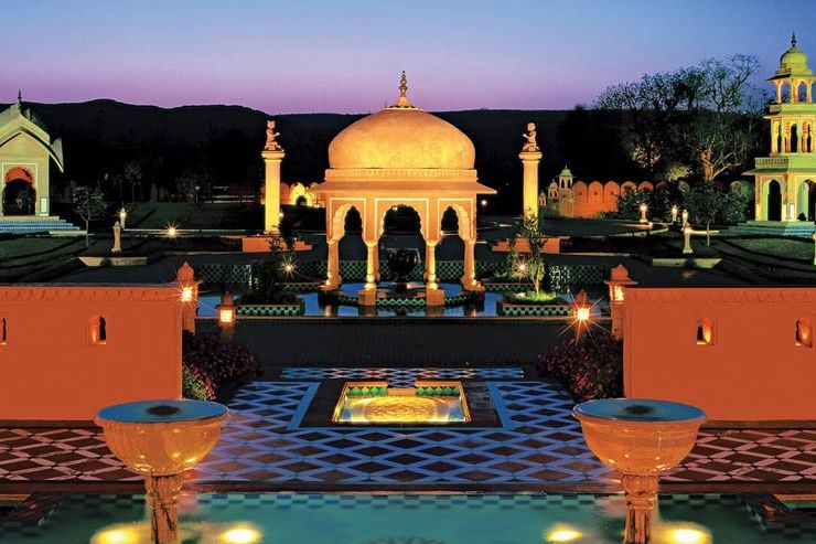 - foto: The Oberoi Rajvilas
