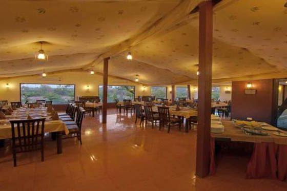 Restaurant van Lion Safari Camp - Lion Safari Camp - India - foto: Lion Safari Camp