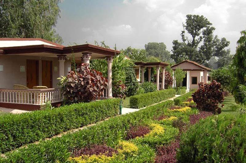 Huisjes in Tiger Den - Tiger Den - India - foto: Tiger Den