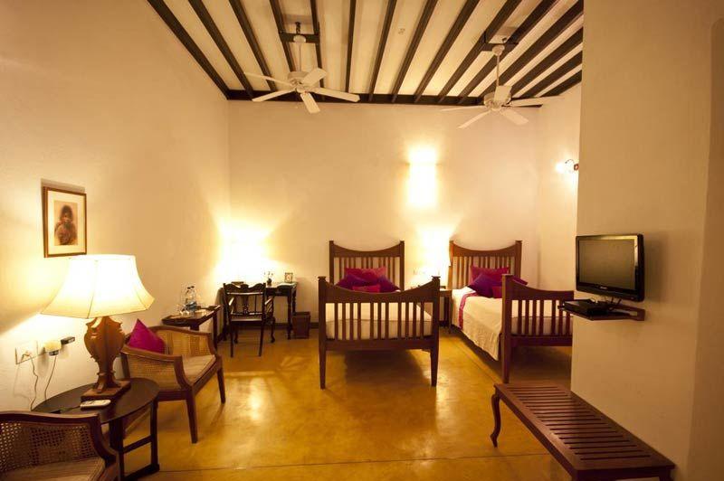 kamer van Maison Perumal Pondicherry - Maison Perumal Pondicherry - India - foto: lokale agent