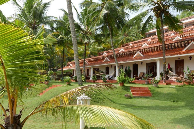 buitenkant Bethsaida Hermitage - Kovalam - Bethsaida Hermitage - India - foto: Bethsaida Hermitage