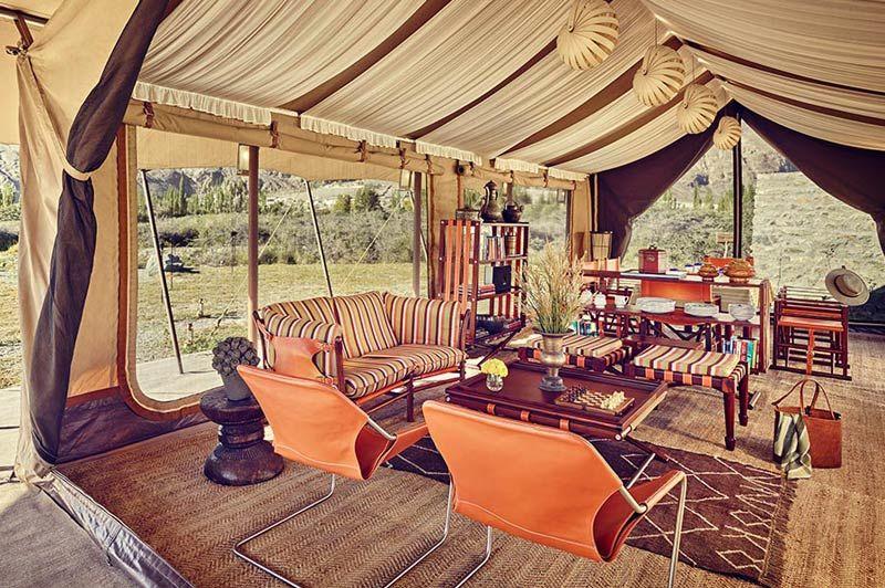 tent Chamba Camp - Diskit Ladakh - Chamba Camp - India - foto: Chamba Camp
