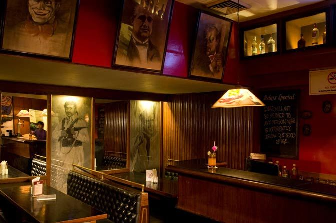 bar Hotel Broadway - Delhi - Hotel Broadway - India - foto: Hotel Broadway
