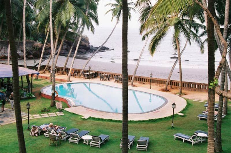 zwembad Prainha Resort and Cottages - Goa - Prainha Resort and Cottages - India - foto: Prainha Resort and Cottages