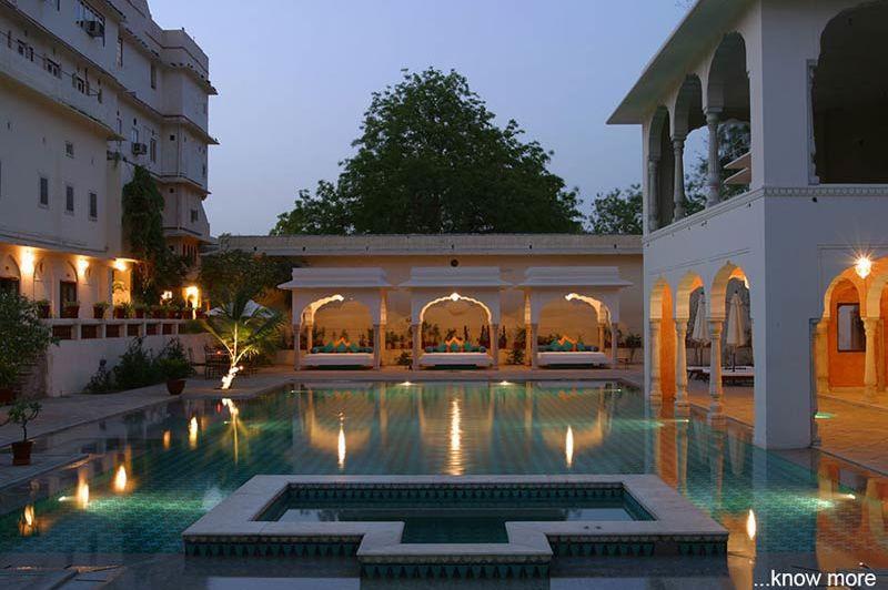 zwembad Samode Haveli - Jaipur - Samode Haveli - India - foto: Samode Haveli