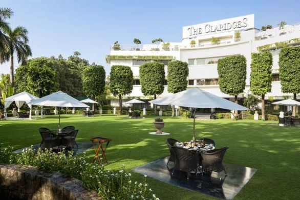 tuin The Claridges - Dehli - The Claridges - India - foto: The Claridges