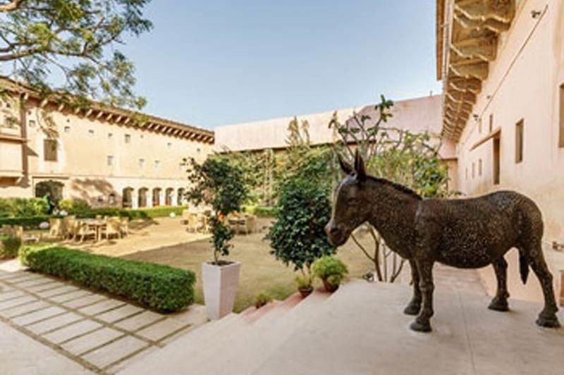 tuin Vivaana Culture Hotel - Mandawa - Vivaana Culture Hotel - India - foto: Vivaana Culture Hotel