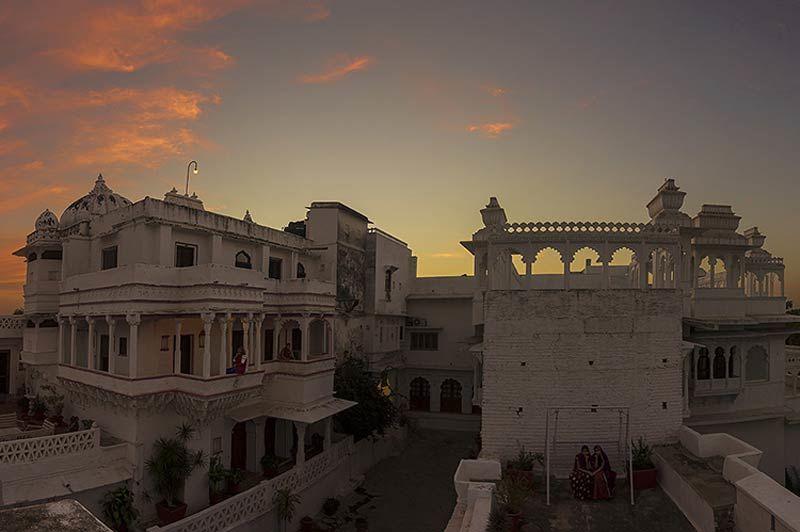 gevel van kasteel Bera - Bera - India - foto: Castle Bera