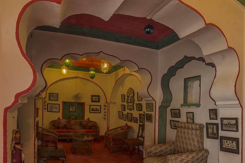 kamer van kasteel Bera - Bera - India - foto: Castle Bera