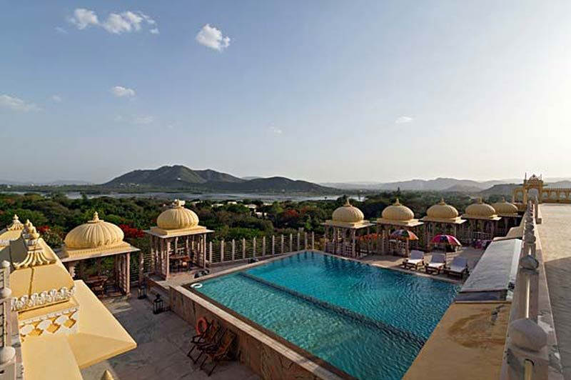 buitenzwembad Chunda Palace - Chunda Palace - India - foto: Chunda Palace