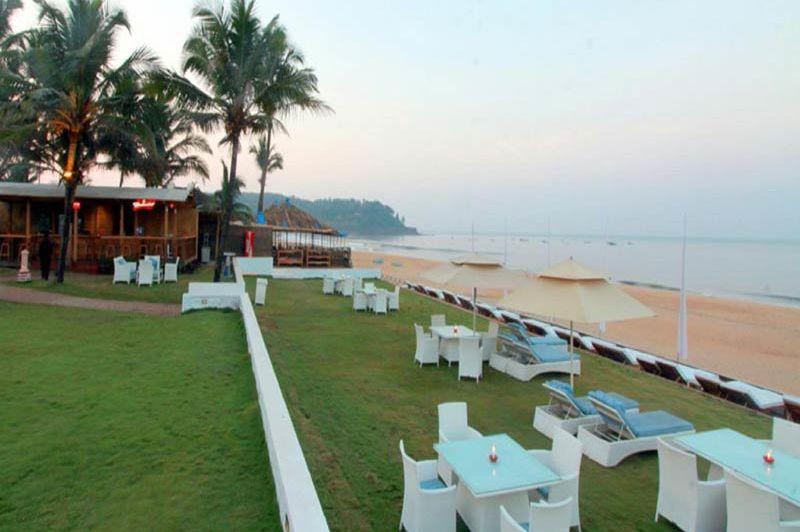 strand van Marquis Beach Resort in Goa - Marquis Beach Resort - India - foto: Marquis Beach Resort
