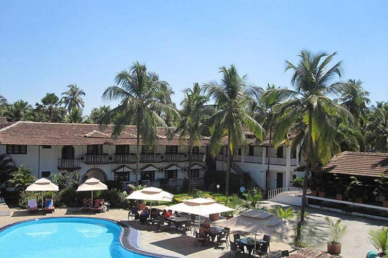 zwembad van Marquis Beach Resort in Goa - Marquis Beach Resort - India - foto: Marquis Beach Resort