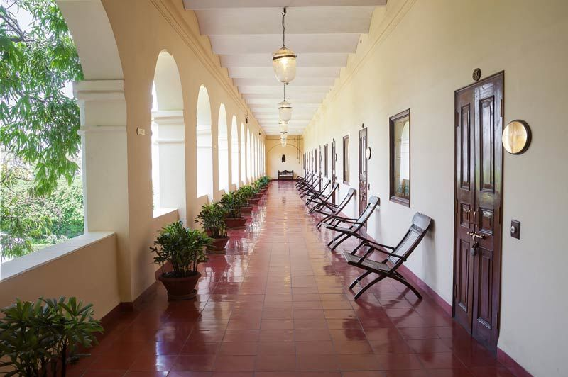 gang met kamers - The Grand Imperial Hotel - India - foto: The Grand Imperial Hotel
