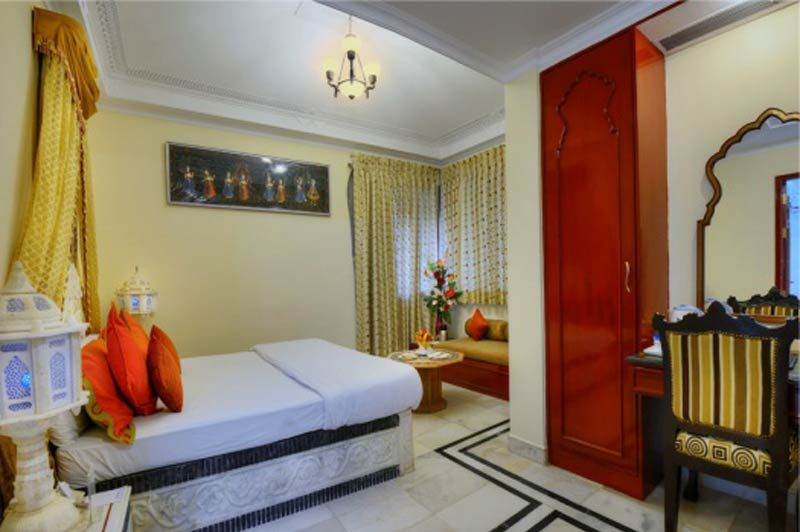 kamer in het Orchha Resort - Orchha Resort - India - foto: Orchha Resort