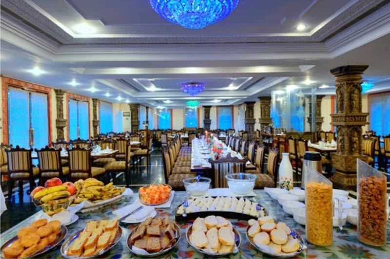 restaurant van het Orchha Resort - Orchha Resort - India - foto: Orchha Resort