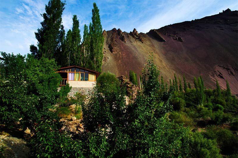 uitzicht op het Ule Ethnic Resort in Uleytokpo - Ule Ethnic Resort - India - foto: Ule Ethnic Resort