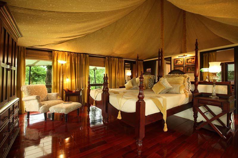 Tuli Corridor tent in Pench - Tuli Corridor - India - foto: Tuli Corridor