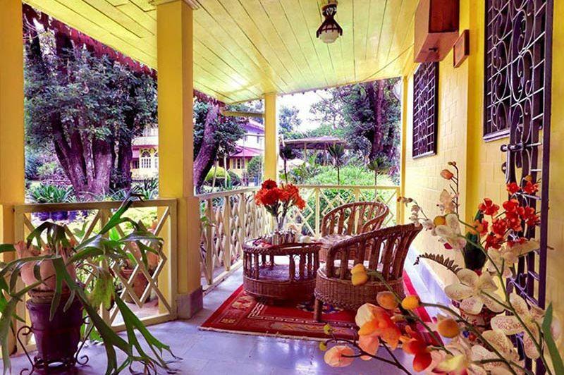 Turuk Kothi veranda - Turuk Kothi - India - foto: Turuk Kothi