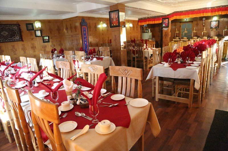 Royal Palace restaurant in Leh - Leh - India - foto: Royal Palace