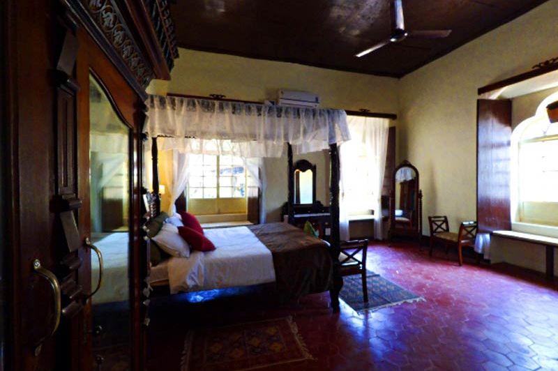 kamer Figueiredo Heritage Inn - Goa-Loutolim - India - foto: Figueiredo Heritage Inn
