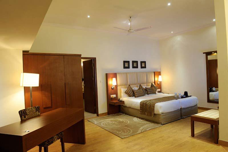 slaapkamer van Ahuja Residency Sunder Nagar in Delhi - Ahuja Residency Sunder Nagar - India - foto: Ahuja Residency Sunder Nagar