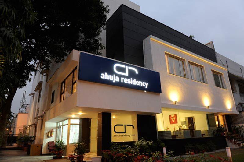 voorgevel van Ahuja Residency Sunder Nagar in Delhi - Ahuja Residency Sunder Nagar - India - foto: Ahuja Residency Sunder Nagar