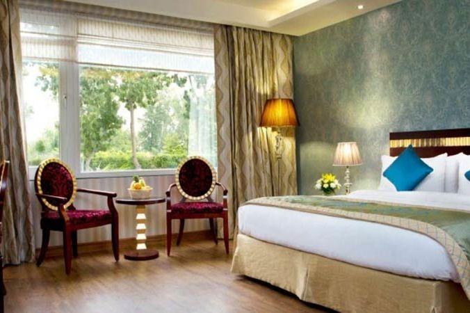 slaapkamer van Atrio Hotel in Delhi - Atrio Hotel - India - foto: Atrio Hotel