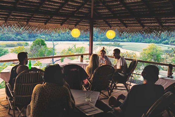 restaurant met uitzicht van Bay Agonda in Agonda - Bay Agonda - India - foto: The Bay Agonda