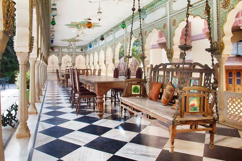 terras van Jagat Palace in Pushkar - Jagat Palace - India - foto: Jagat Palace