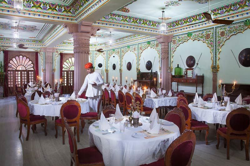 restaurant van Jagat Palace in Pushkar - Jagat Palace - India - foto: Jagat Palace
