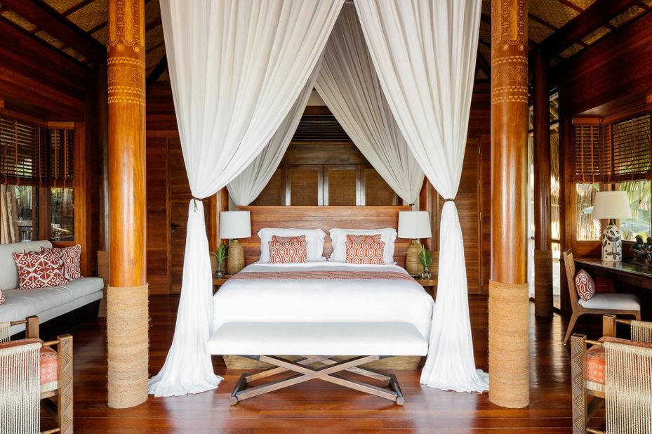 Indonesië - Sumba - Nihi Sumba Resort - slaapkamer - foto: Nihi Sumba Resort
