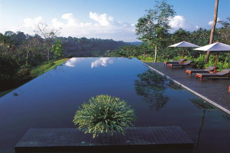 zwembad - Alila - Alila Ubud - Indonesië