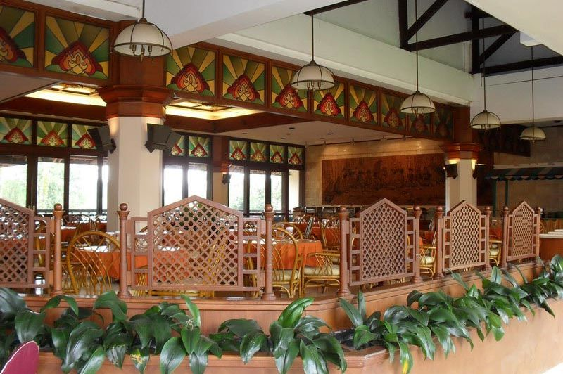 restaurant - Pusako Hotel - Bukittinggi - Indonesië